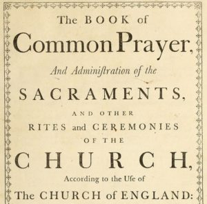 What is Common Prayer? – From the Archives – by the late Dr Peter Toon